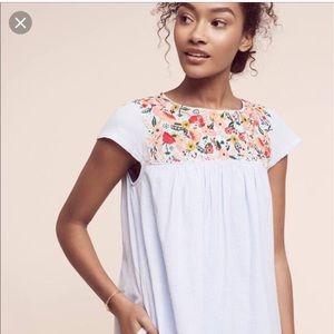 Anthropologie Chrissy tunic dress size 2
